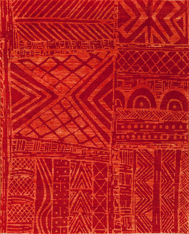 Africa Mozambique Samad Hand Made Carpets